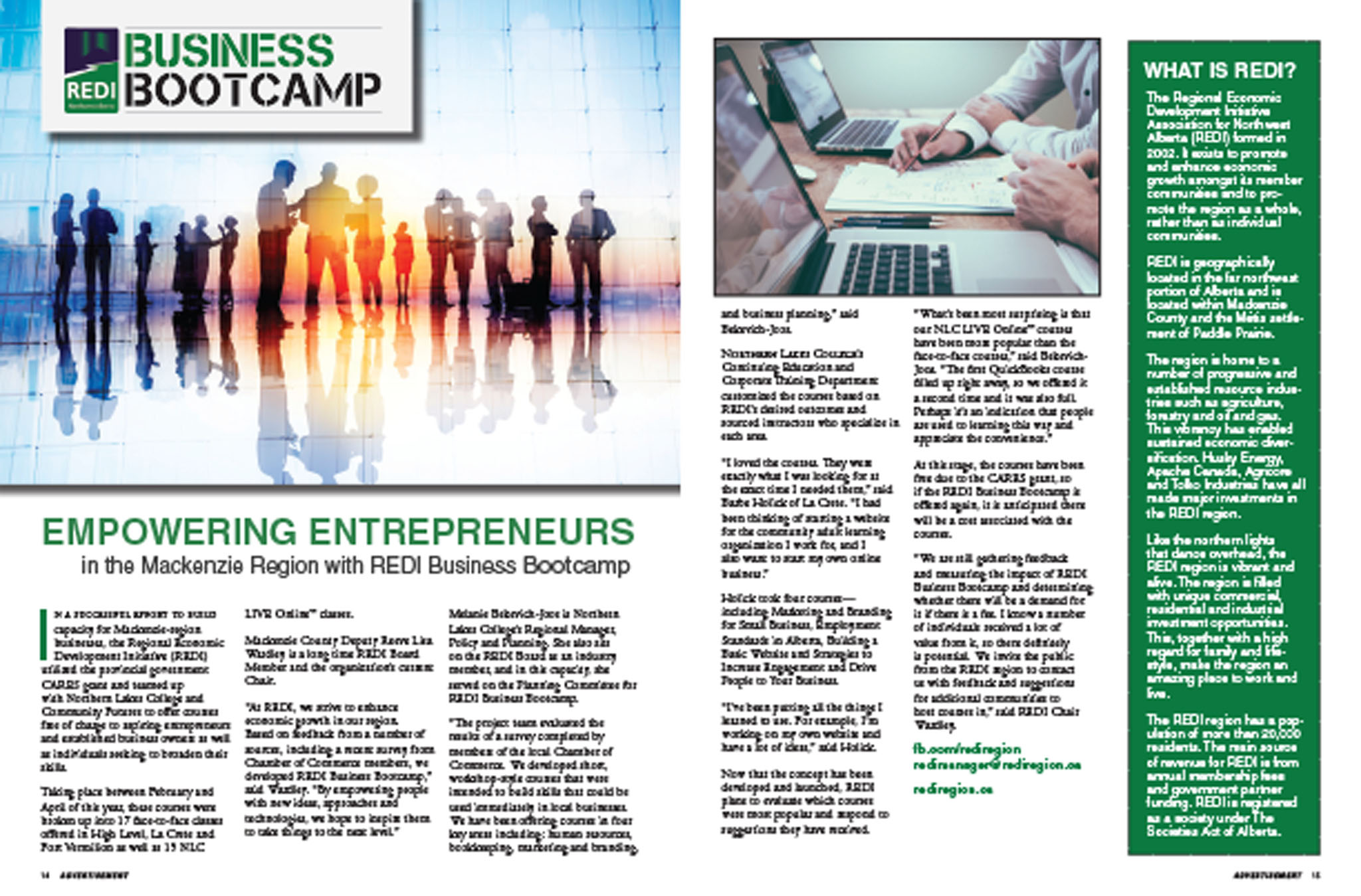 May 2018 - Empowering Entrepreneurs - REDI Business Bootcamp
