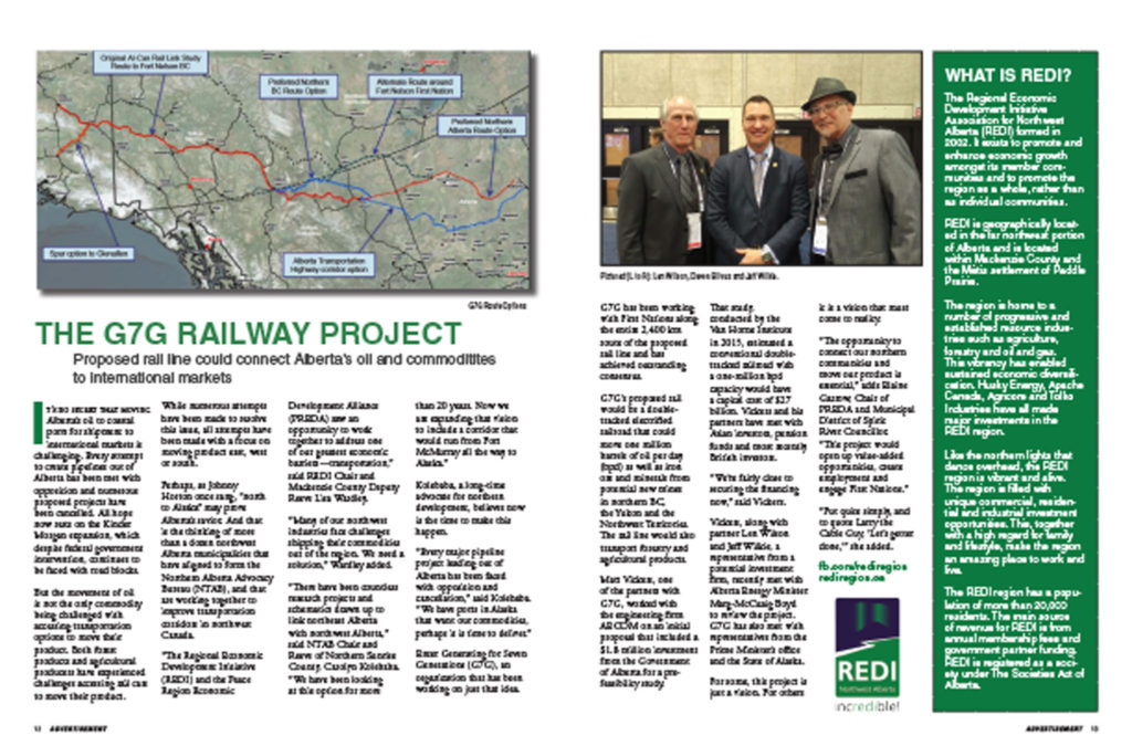 August 2018 - The G7G Railway Project