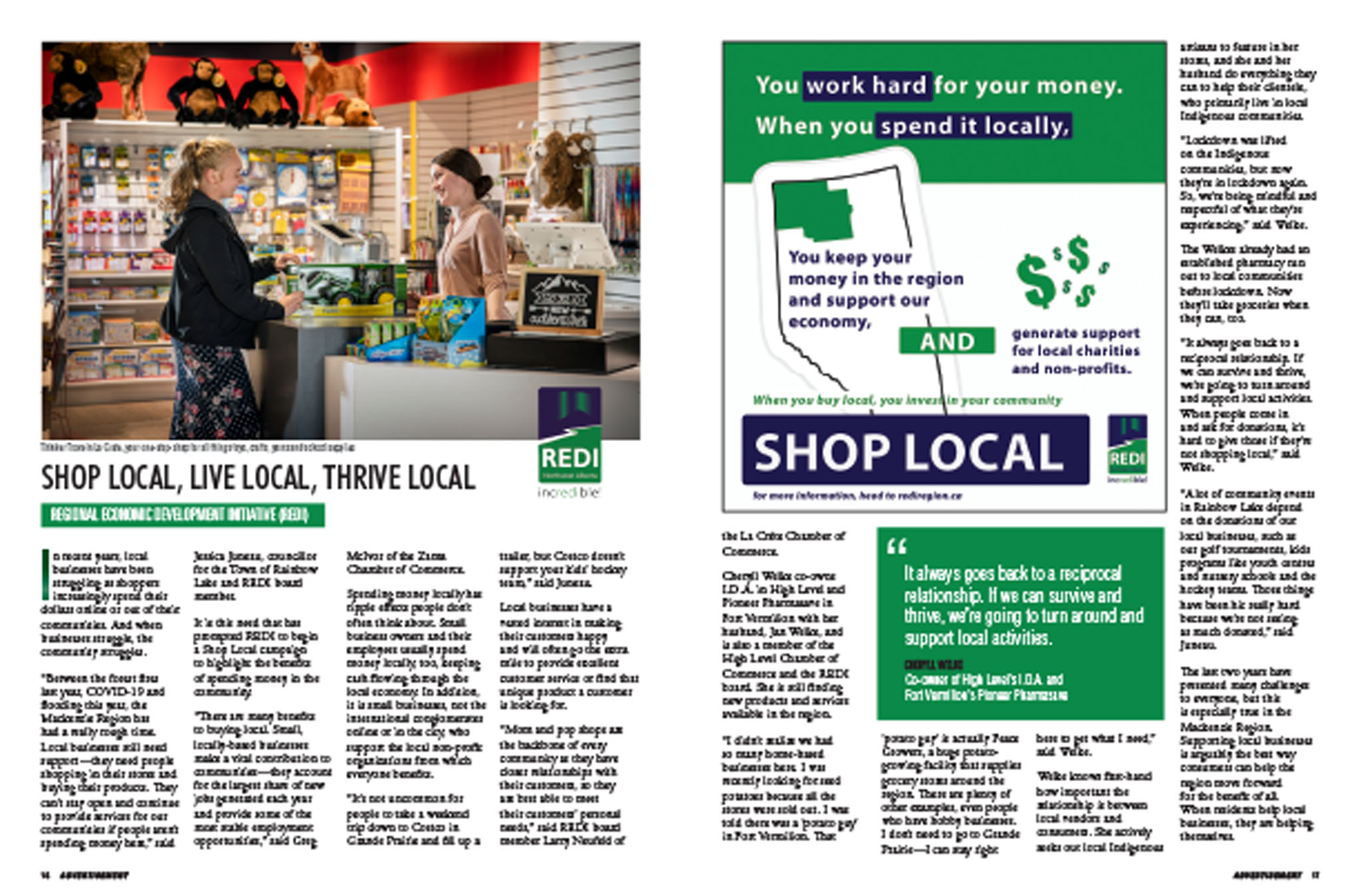 August 2020 - Shop Local Campaign