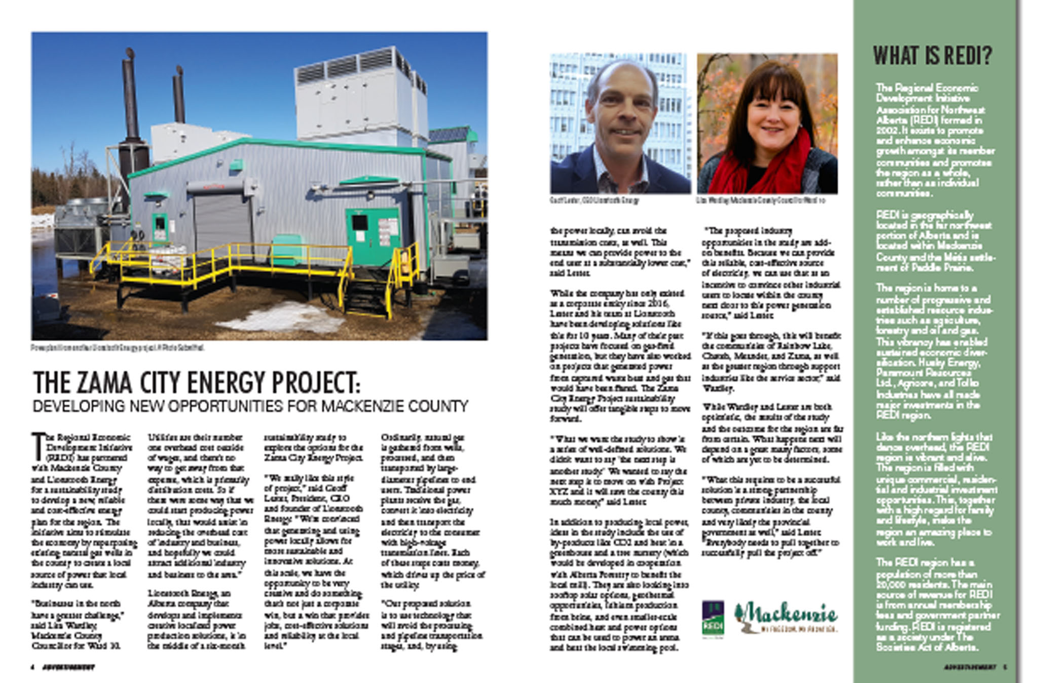 August 2019 - The Zama City Energy Project