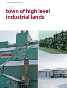 Front Cover - High Level Industrial Lands