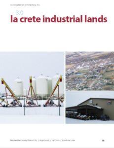 Front Cover - La Crete Industrial Lands