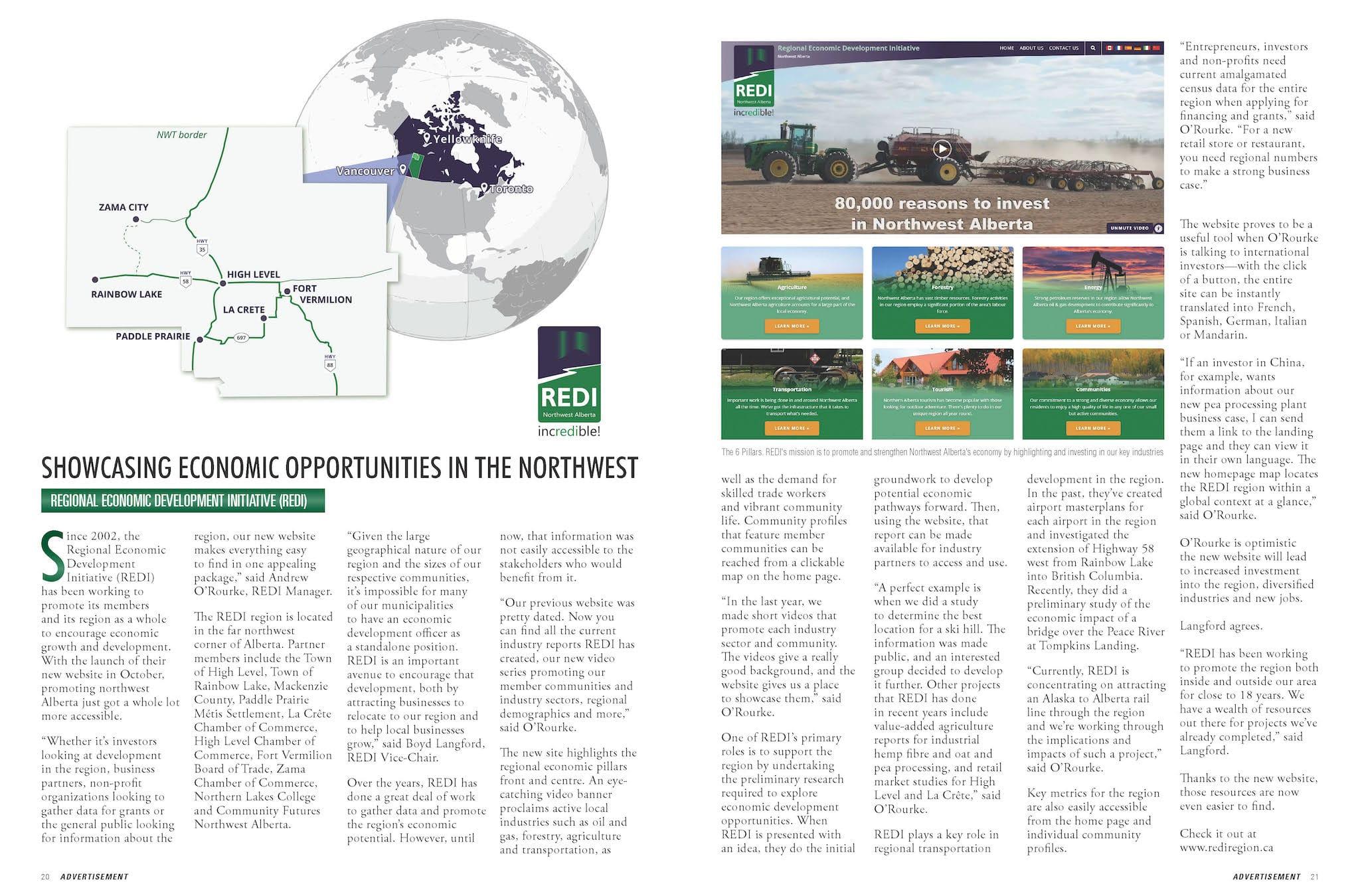 Issue #28 - Economic Opportunities