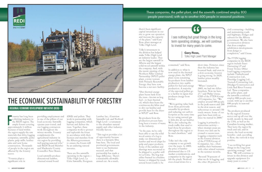 Issue #29 - Forestry Sustainability